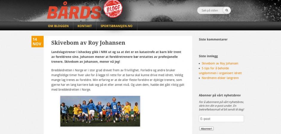 Bårds blogg